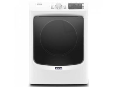 """27"""" Maytag  7.3 Cu. Ft. Front Load Electric Dryer With Extra Power And Quick Dry Cycle - YMED5630HW"""
