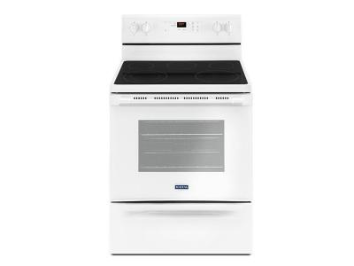 """30"""" Maytag 5.3 Cu. Ft. Electric Range With Shatter-Resistant Cooktop - YMER6600FW"""