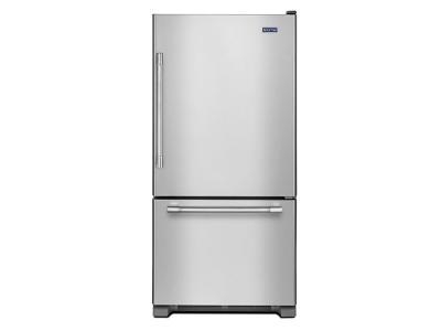 "30"" Maytag 18.6 Cu. Ft. Bottom Freezer Refrigerator - MBR1957FEZ"