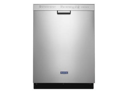 """24"""" Maytag Stainless Steel Tub Dishwasher with Most Powerful Motor on the Market - MDB4949SHZ"""