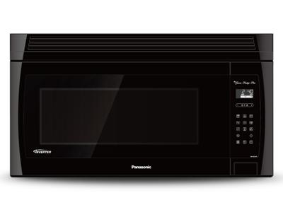 "30"" Panasonic 2.0 Cu. Ft. Genius Prestige Plus Over-the-Range Microwave Oven - NNSE284B"