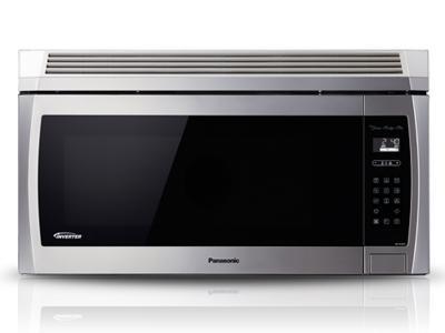 "30"" Panasonic 2.0 Cu. Ft. Genius Prestige Plus Over-the-Range Microwave Oven - NNSE284S"