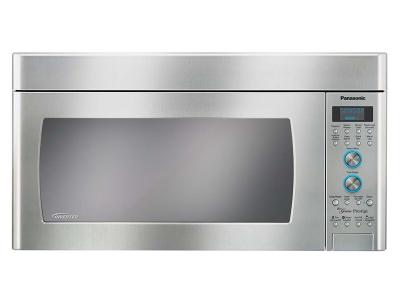 "30"" Panasonic 2.0 Cu. Ft. Genius Prestige Inverter OTR Microwave - NNSD291S"