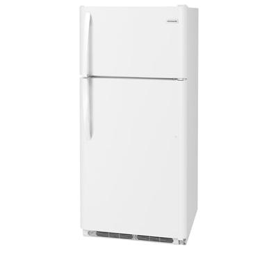 "30"" Frigidaire 18 Cu. Ft. Top Freezer Refrigerator - FFTR1814TW"