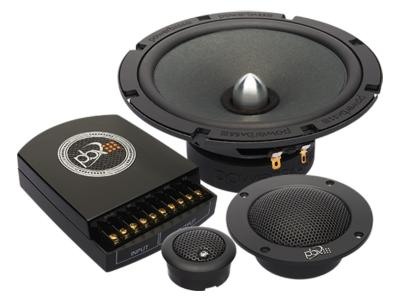 PowerBass 6.5 Inch 3-way Component Speaker System - 2XL633C