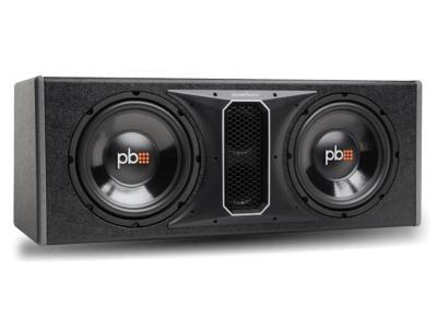 PowerBass 10 Inch Dual Subwoofer Enclosure - PSWB102