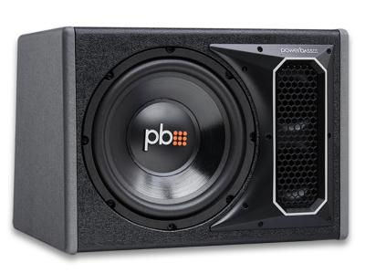 PowerBass 10 Inch Vented Loaded Bass Reflex Subwoofer Enclosure - PSWB101