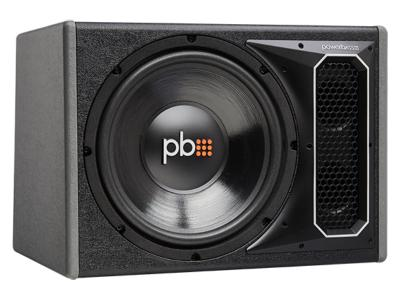 PowerBass Single 12 Inch Vented Loaded Bass Reflex Subwoofer Enclosure - PSWB121