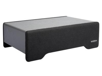 PowerBass 10 Inch Loaded Downfiring Subwoofer Enclosure - PSDF110T