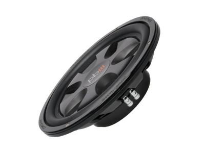 PowerBass Thin Mount 12 Inch Single 4-Ohm Subwoofer - S12T