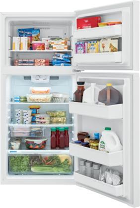 "28"" Frigidaire Freestanding Top Freezer Refrigerator - FFHT1425VW"