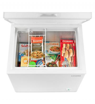 """30"""" Amana 5.3 Cu. Ft. Compact Freezer With 2 Rollers - AQC0501GRW"""