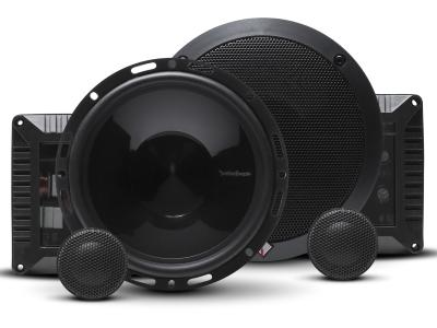 Rockford Fosgate Power Series 6.50 Inch 2-Way Euro Fit Compatible Component Speaker System - T1650-S