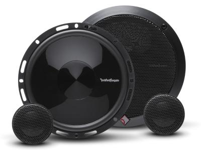 Rockford Fosgate Punch Series 6.5 Inch 2-Way Euro Fit Compatible Speaker System With External Xover - P165-SE