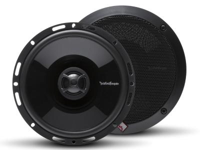 Rockford Fosgate Punch Series 6.5 Inch 2-Way Full Range Euro Fit Compatible Coaxial Speaker - P1650