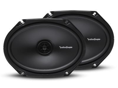 "Rockford Fosgate Prime Series 6""x8"" 2-Way Full Range Coaxial Speaker - R168X2"