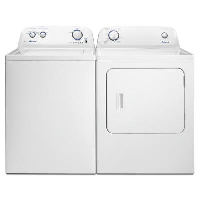 """29"""" Amana 6.5 Cu. Ft. Top-Load Gas Dryer With Automatic Dryness Control - NGD4655EW"""