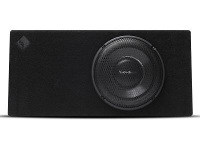 Rockford Fosgate Power Series Sealed Loaded Enclosure Featuring Single 12 Inch T1 Slim Subwoofer - T1S-1X12