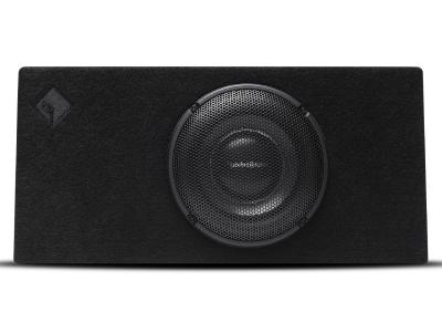 Rockford Fosgate Loaded Enclosure Featuring 10 Inch Power T1 Slim Subwoofer - T1S-1X10