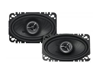 "4x6"" Kenwood eXcelon  100W 2-Way Car Custom Fit Speakers KFCX463C"