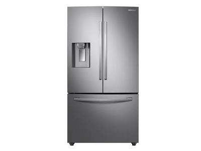 """36"""" Samsung 22.6 Cu. Ft. French Door Refrigerator With Twin Cooling Plus In Stainless Steel - RF23R6201SR"""