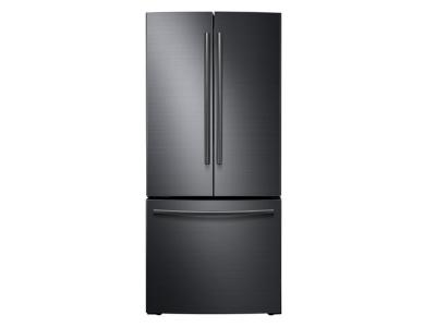 """30"""" Samsung French Door Refrigerator with Digital Inverter Technology, 21.6 cu.ft - RF220NCTASG/AA"""