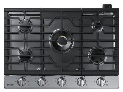 "30"" Samsung Gas Cooktop With 22K BTU Dual Power Burner - NA30N7755TS"
