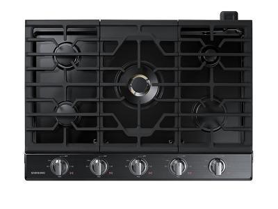 "30"" Samsung Gas Cooktop With 22K BTU Dual Power Burner - NA30N7755TG"