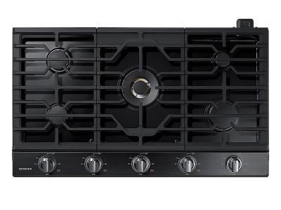 "36"" Samsung Gas Cooktop With 22K BTU True Dual Power Burner - NA36N7755TG"