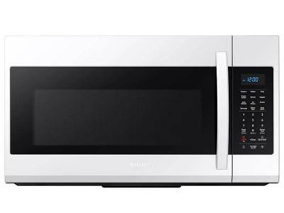 """30"""" Samsung 1.9 Cu. Ft. Over the Range Microwave In White - ME19R7041FW"""