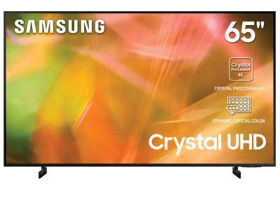 "65"" Samsung UN65AU8000FXZC Crystal UHD Smart TV"
