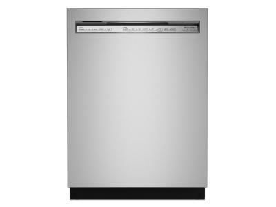 "24"" KitchenAid 44 dBA Dishwasher in PrintShield Finish with FreeFlex Third Rack - KDFM404KPS"