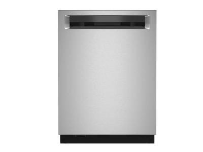 "24"" KitchenAid 44 dBA Dishwasher in PrintShield Finish with FreeFlex Third Rack - KDPM604KPS"