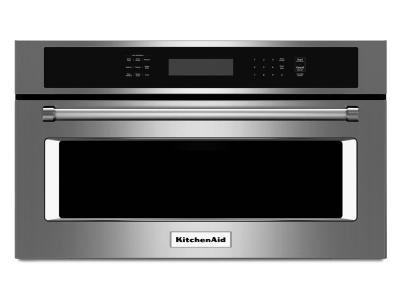 """30"""" KitchenAid 1.4 Cu. Ft. Built In Microwave Oven With Convection Cooking - KMBP100ESS"""