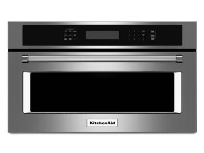 """27"""" KitchenAid 1.4 Cu. Ft. Built In Microwave Oven With Convection Cooking - KMBP107ESS"""