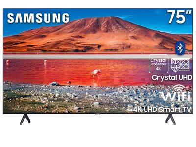 "75"" Samsung UN75TU7000FXZC Smart 4K UHD TV"