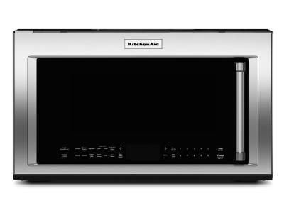 """30"""" KitchenAid 1.9 Cu. Ft. 1000-Watt Convection Microwave With Convection Cooking - YKMHC319ES"""