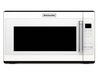 "30"" KitchenAid 2.0 Cu. Ft. 950-Watt Microwave With 7 Sensor Functions - YKMHS120EW"