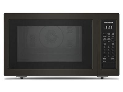 """22"""" KitchenAid 1.5 Cu. Ft. Countertop Convection Microwave Oven With PrintShield Finish - KMCC5015GBS"""