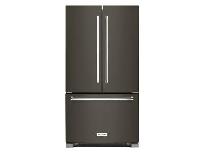 "36"" KitchenAid 20 Cu. Ft. Counter-Depth French Door Refrigerator With Interior Dispense - KRFC300EBS"