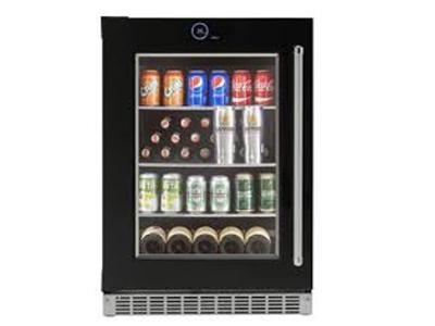 "24 "" Silhouette  Wide 5.0 Cu. Ft. Capacity Left Handed Beverage Center - SRVBC050L"