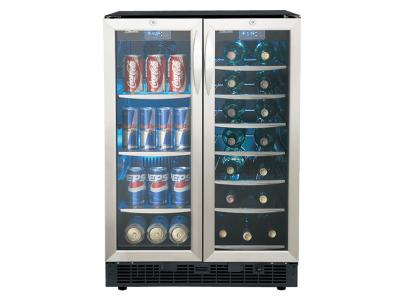 """24"""" Silhouette French Door Beverage Centre - DBC2760BLS"""