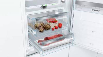 "22"" Bosch Custom Panel Built-In Bottom Freezer Refrigerator - B09IB91NSP"