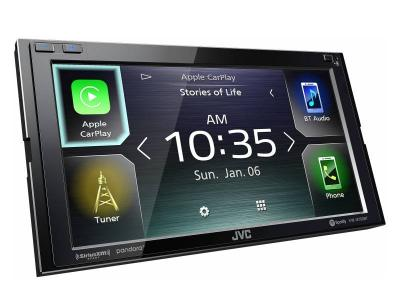 """6.8"""" JVC Multimedia Receiver Featuring Clear Resistive Touch Monitor - KW-M750BT"""