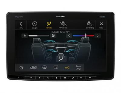 Alpine Halo11 Multimedia Receiver With 11 Inch Floating Touchscreen Display - ILX-F411