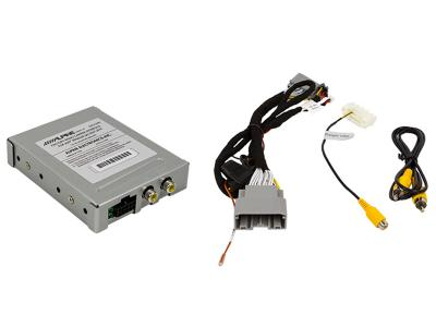 Alpine Factory Radio Camera Interface with Active Guideline System for Jeep Wrangler JK - SGS-CH01