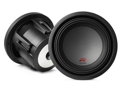 """Alpine R-Series 10"""" subwoofer with dual 4-ohm voice coils - R-W10D4"""