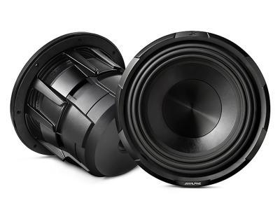 """Alpine X-Series 10"""" subwoofer with dual 4-ohm voice coils - X-W12D4"""