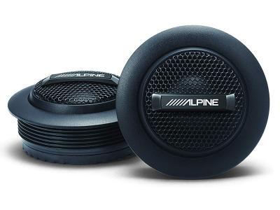 Alpine S Series Silk Dome Tweeter Set - S-S10TW