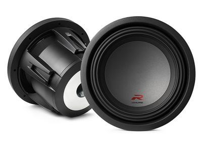 """Alpine R-Series 10"""" subwoofer with dual 2-ohm voice coils - R-W10D2"""